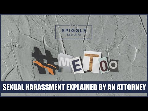 Sexual harassment law facts
