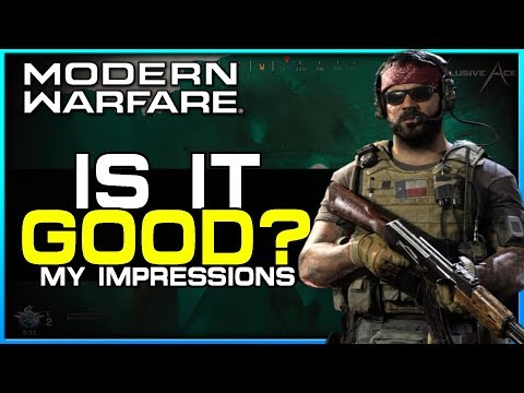 The Good & Bad with Modern Warfare | My Honest Impressions