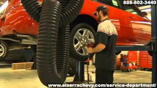 Chevrolet Wheel Alignment Front End Alignment Service Grand Blanc Flint Michigan Al Serra Auto Plaza