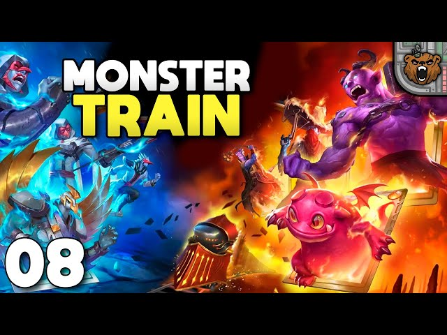 Novo Clã! | Monster Train #08 - Gameplay 4K PT-BR