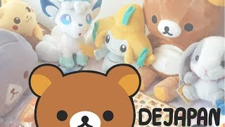 my plushies and more stuff from DEJAPAN
