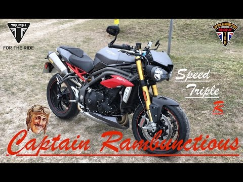 2016 Triumph Speed Triple R - 1st Ride & Review
