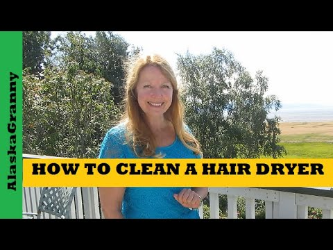 How To Clean Hair Dryers