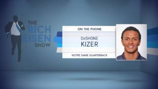 Notre Dame QB DeShone Kizer Defends His Comments on Having Mind of Brady & Body of Newton - 4/26/17