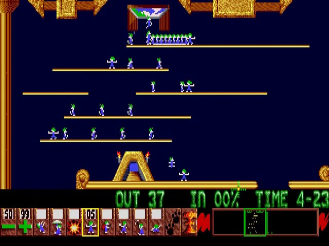 Jouez à Lemmings sur Commodore Amiga grâce à nos bartops et consoles retrogaming