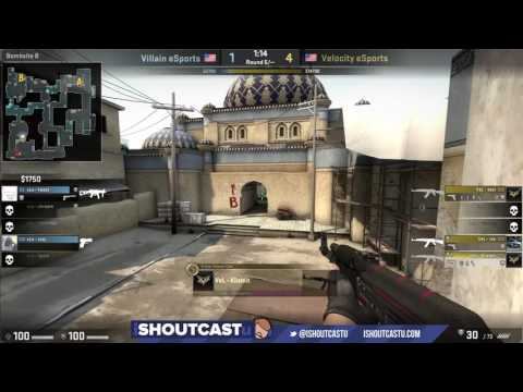 CASTING VOD - ESEA Main: Velocity eSports vs Villain eSports (de_dust2)