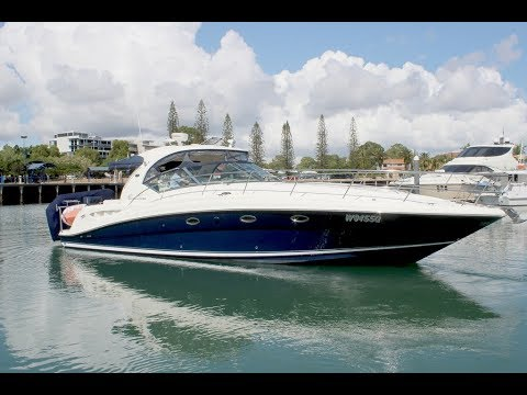 Searay Sundancer 455 for sale at Peter Hansen Yacht Brokers Raby Bay