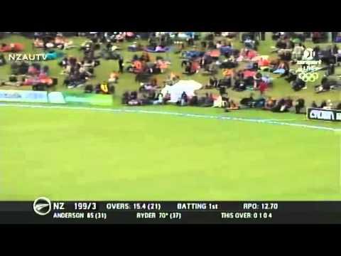 Jesse Ryder 104 vs. West Indies (Queenstown, 2014)