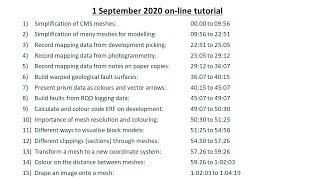 20201110 GEM4D Online Tutorial