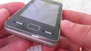 Телефон samsung Самсунг gt-s5260 Star II Видео(Телефон Самсунг gt s5260 Star 2 ( Samsung GT-S5260 Star II ) Хорошая модель. Мобильный телефон с довольно продвинутым набором..., 2014-04-03T10:53:17.000Z)