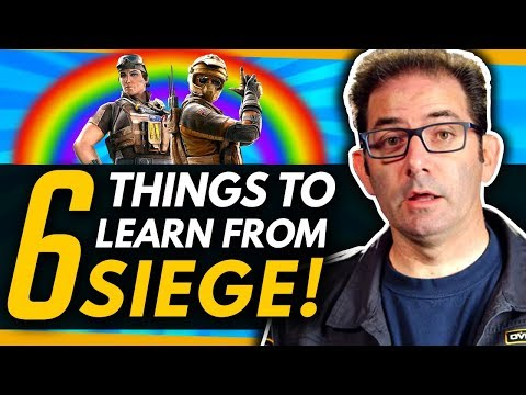 Overwatch | 6 Things For Jeff To Learn From Rainbow 6 Siege thumbnail
