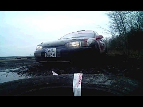 Atak Mitsubishi na kamerę | Rally car attacks camera | Rallysprint Milano 29.03.2015
