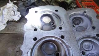 Repairing the 1967 vw engine