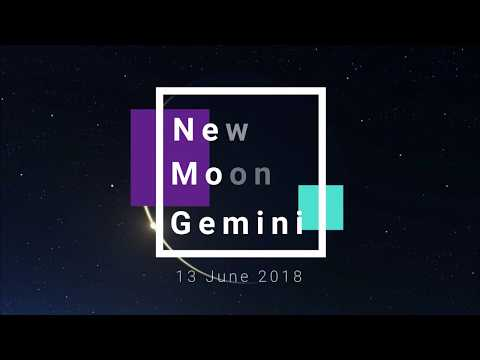 New Moon Gemini 13 June 2018 - Clear Pictures