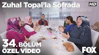 Masada  salata tartışması yaşanıyor... Zuhal Topal'la Sofrada 34. Bölüm