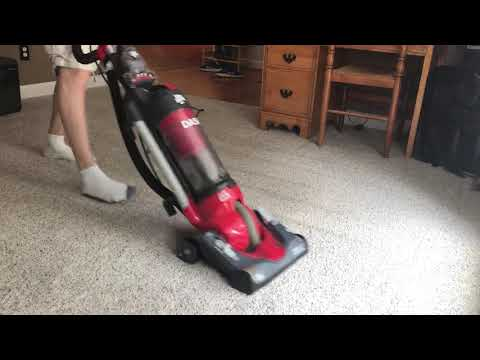 Vacuuming A Room With Dirt Devil Dash Baggless