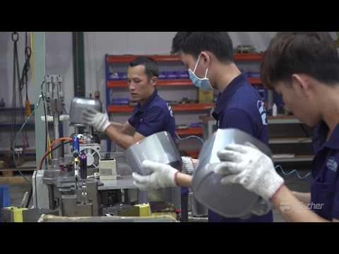 PRECISION METAL STAMPING  short technical video - Videographer/cameraman Ho Chi MInh City
