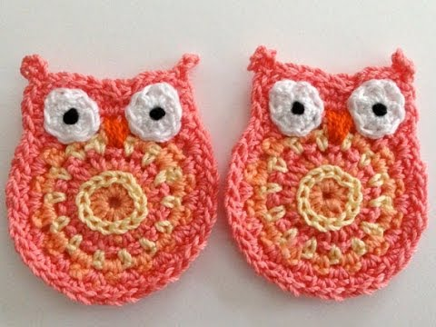 CROCHET OWL - YouTube