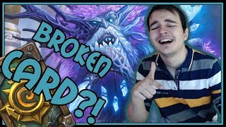 Spirit of Lucentbark is the most broken !@#$ EVER | Heal Druid | Rise of Shadows | Hearthstone