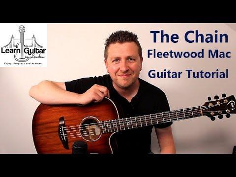 The Chain - Acoustic Guitar Tutorial - Fleetwood Mac - Drue James - Part 1