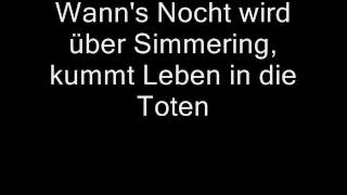 Wolfgang Ambros - Es lebe der Zentralfriedhof (Lyrics)