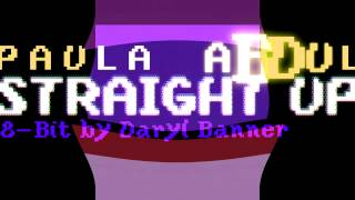"Paula Abdul ""STRAIGHT UP"" Nintendo Hyper 8-Bit by Daryl Banner"