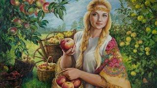 Яблочный Спас в живописи