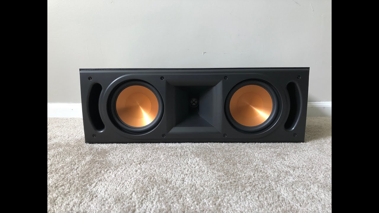 New Klipsch RC-62II Reference Series Center Channel speaker new in box black