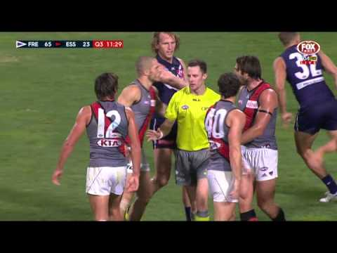 Barlow floored, Baguley reported - AFL