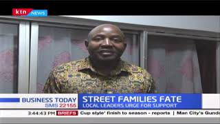 Local leaders have urged the government to support street families during the Covid-19 pandemic