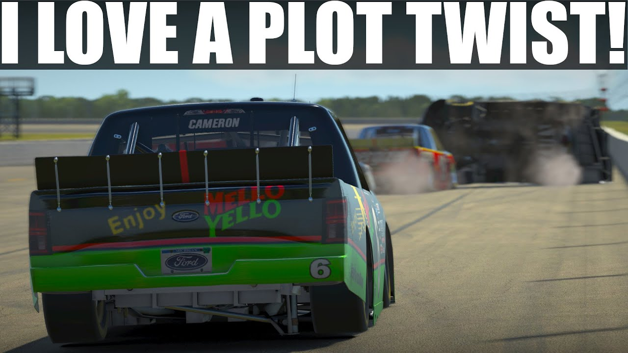 The twists & turns of Truck racing! | Class C Fixed @ Pocono | Ford F150