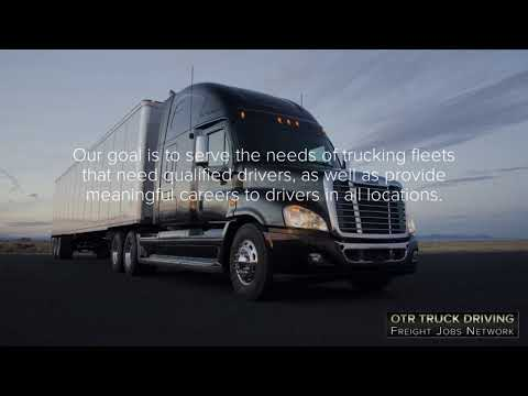 OTR Truck Driving Jobs For CDL Truck Drivers Now Hiring In 5 Great Locations!