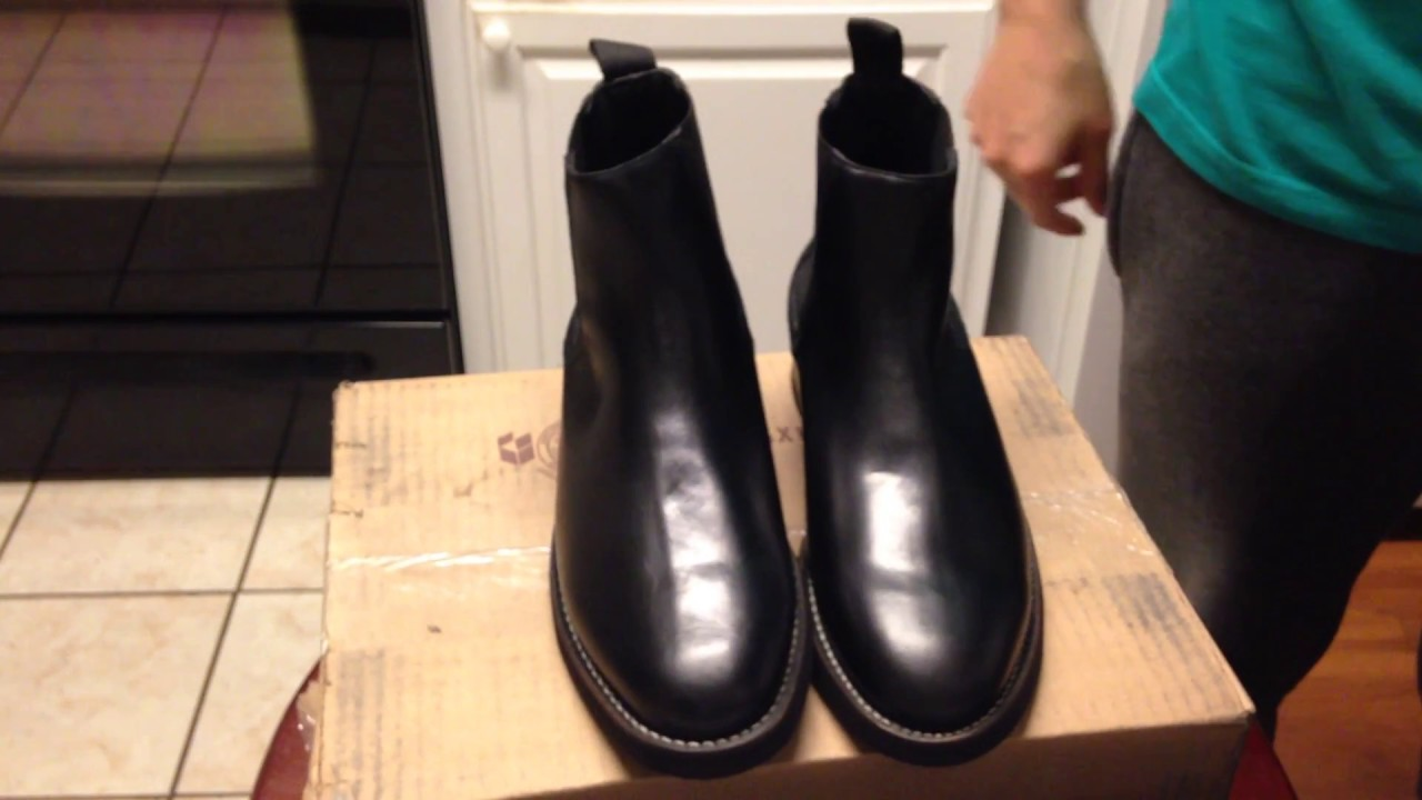 85b9509a5a Thursday Boot Unboxing/Review - Black Duke Chelsea Boots - YouTube