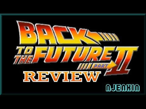 AMIGA : Back to the Future Part II - Review Commentary & Gameplay !