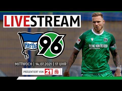 RE-LIVE: Hertha BSC vs. Hannover 96   Saisonvorbereitung 202