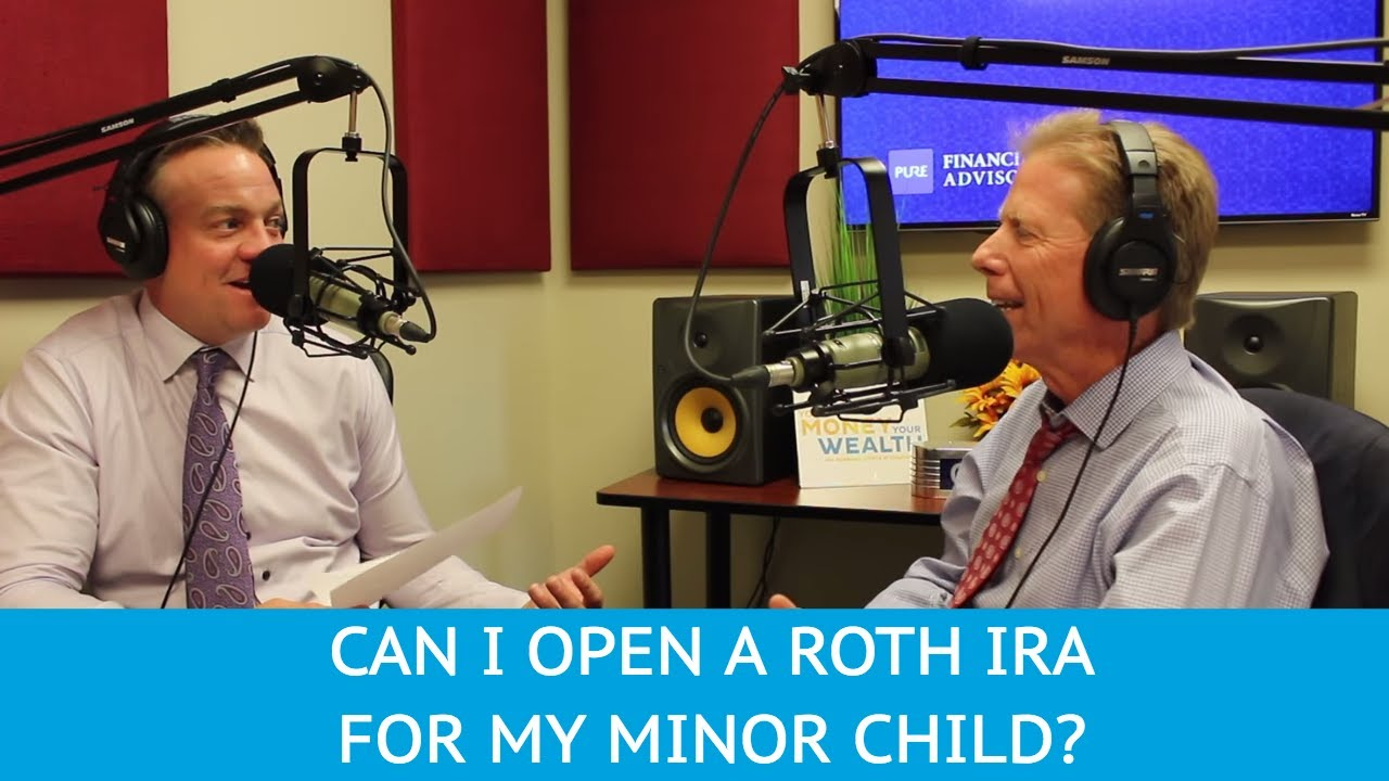 how to open a roth ira for minors