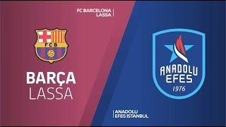 #EuroLeague #Playoff 4. Maç: Barcelona Lassa - Anadolu Efes