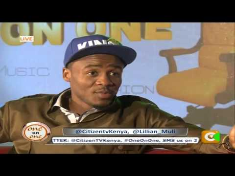 One on One with Alikiba at Citizen TV, Kenya