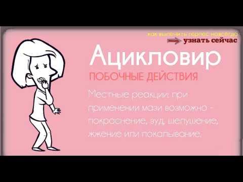 Ацикловир :: Инструкция :: Цена :: Подробное описание
