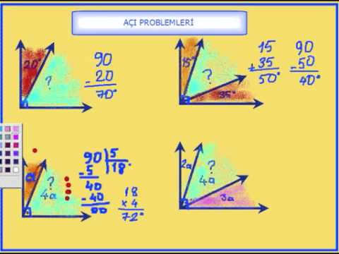 Necmi Demir-  Açı ve çeşitleri (4. ve 5. sınıf)