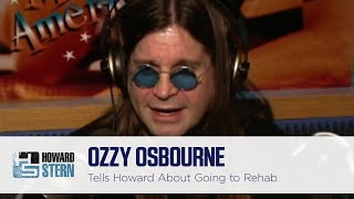 "Ozzy Osbourne Thought He Was Going to Rehab to Learn to Drink ""Properly"" (1996)"