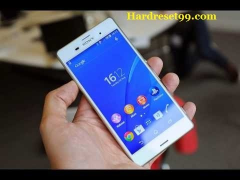 Sony Z3 Compact Hard Reset