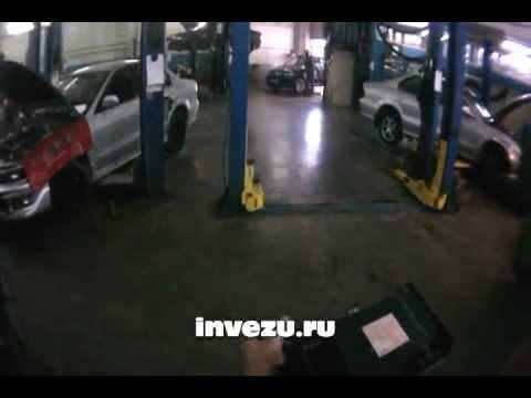 Пропил под салонный фильтр автомобиля