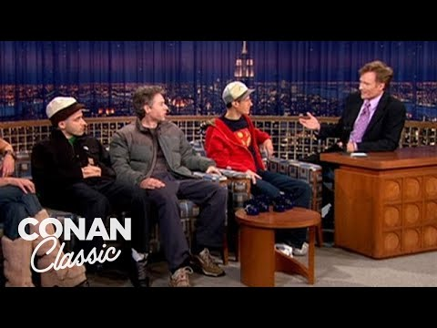 """Beastie Boys On Touring With A Dog Show  - """"Late Night With Conan O'Brien"""""""