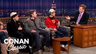 "Beastie Boys On Touring With A Dog Show  - ""Late Night With Conan O'Brien"""
