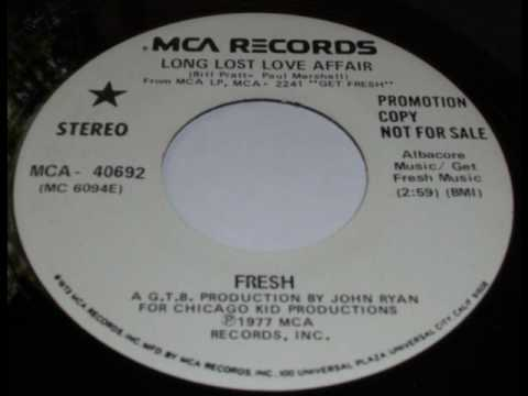 Fresh - Long lost love affair - YouTube