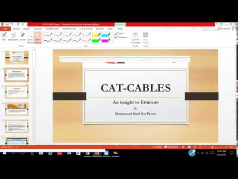 COMPLETE TRAINING on CAT-6 CABLING IN HINDI/URDU.