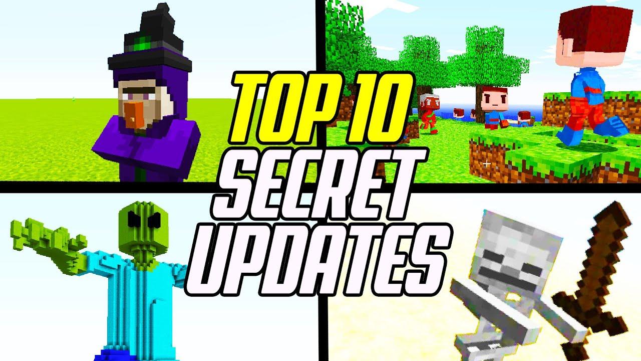 Top 8 UNRELEASED Minecraft Updates! (Mobs/Items/Features)