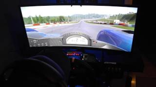 BenQ XR3501 in action with Project Cars & Track IR