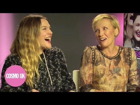 Drew Barrymore & Toni Collette tell terrible jokes